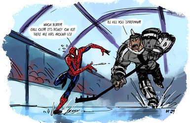 Marvel on Ice by njay