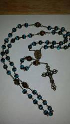 Joshs Rosary by rosariesbyclarissa