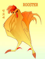 Tribute to the Rooster by macawnivore