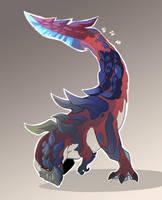Glavenus (Monster Hunter) by macawnivore