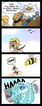 Zelda BOTW - Daruk's Protection by macawnivore