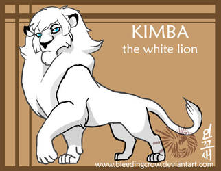 Kimba the white lion king by macawnivore