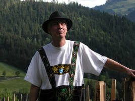Me in the austrian Alps by WilliamSnape