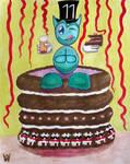 Fella's 11th Birthday by WilliamSnape