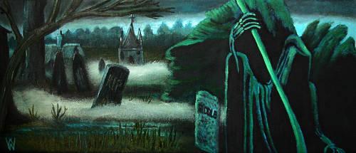 Little Hangleton Graveyard by WilliamSnape