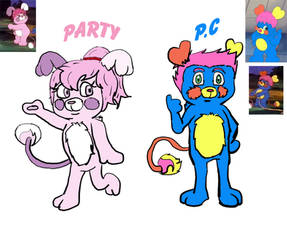 Party and PC popple redesign 2019 by Krispina-The-Derp