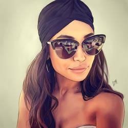Naya Rivera by DraconaMalfoy