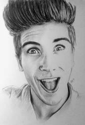 Joey Graceffa by DraconaMalfoy