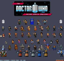 Doctor Who - Retro Sprites by Carnivius