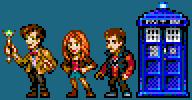 TARDIS Crew 2010 by Carnivius