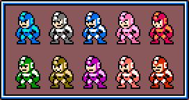 Mega Man - NES revamp by Carnivius