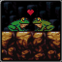 Froggies in love by Carnivius