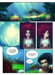 The Little Mermaid comic, page 18 by MrRabLo