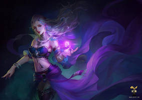Magic Princess by GjschoolArt