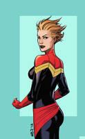 Captain Marvel by NelsonBlakeII
