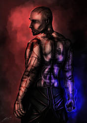 Mass Effect 2 - Male Jack by ThePianist90