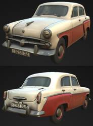 Moskvitch 402 by RenaKryik