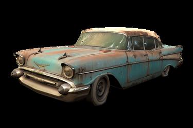 1957 Chevy Bel Air by RenaKryik