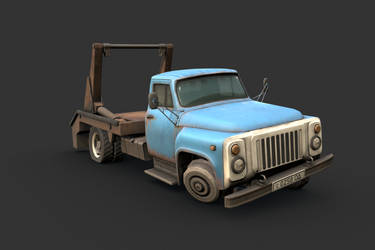 Half-Life 2 - GAZ 52 (3D Remake) by RenaKryik