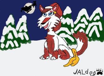 Christmas pic, Bec Sparrow by JALdog