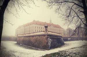 Castle in Rzeszow by Hlor