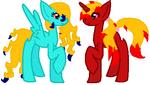 princessmeg123's Custom Ponies by zX-ShadowLugia111-Xz