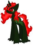 CyberAgent369's Nightmare Pony Custom by zX-ShadowLugia111-Xz