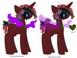 shelbythehegdehog112's Custom Smoke Gem Pony by zX-ShadowLugia111-Xz