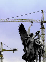 Angels in Berlin I by desdemonea
