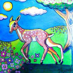 Oh, Deer by Catsbah