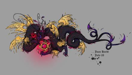 Dragon T Shirt by blinkifish13