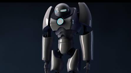 Robot  by JaninBuendia