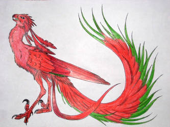 Nightmare Phoenix 2009 by InkHyaena