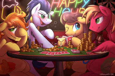 Happy Hour by Littleivy25