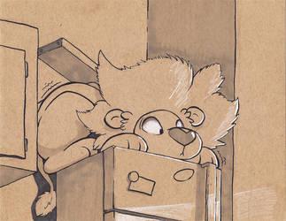 Scaredy Cat by Littleivy25