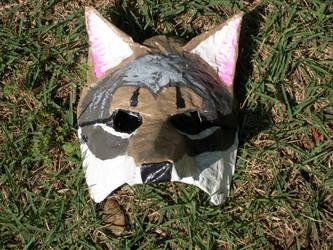 Cyote mask 2 by FoxboyPrower