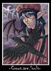 -Crows.are.Souls- by Manamaraya