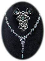 Sea Nymph Necklace by ArmouredRaven