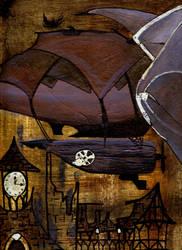 Stray Zeppelin by Sharayab