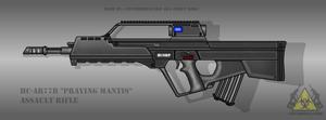 Fictional Firearm: HC-AR77B Assault Rifle by CzechBiohazard