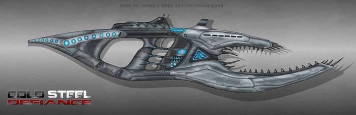 Cold Steel Defiance Alien weapon by CzechBiohazard
