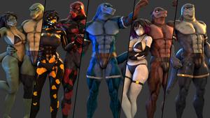 Lizard models Release! (SFM) by petruz3D