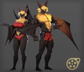 Bats Release! (SFM) by petruz3D