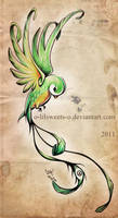 Quetzal inspiration by Claire-Sinturel
