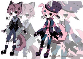 victorian kemonomini adoptable batch CLOSED by AS-Adoptables