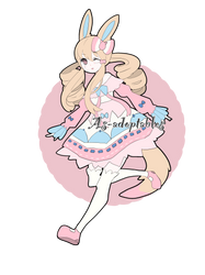 Pokemon inspired adoptable closed by AS-Adoptables