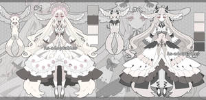 Forest spirit adoptable batch closed by AS-Adoptables