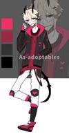 Shadow Dragon adoptable open by AS-Adoptables