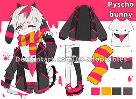 Pyscho bunny adoptable closed set price by AS-Adoptables