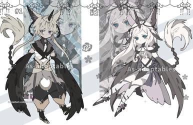Forest spirit adoptables closed by AS-Adoptables